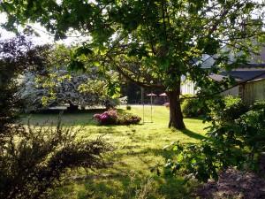 Chez Louise, jardin